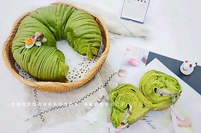 【抹茶毛线球面包】给豆果生日添色彩