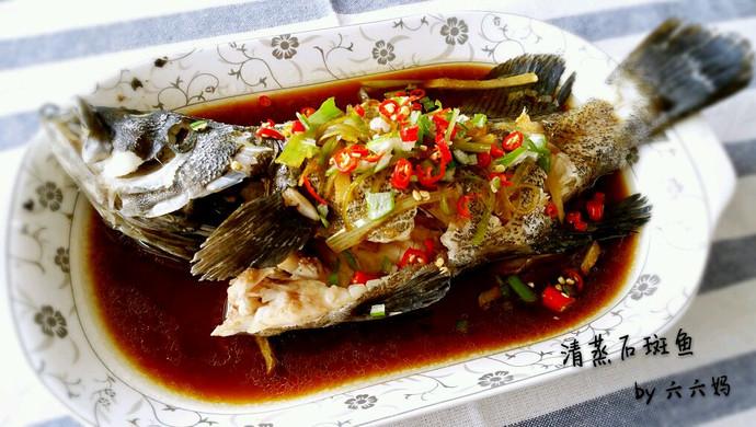 清蒸石斑鱼(适用于各种清蒸鱼)