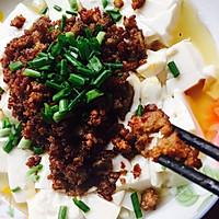 肉末蒸豆腐的做法图解7