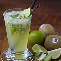 Mojito kiwi 饮料的做法图解5