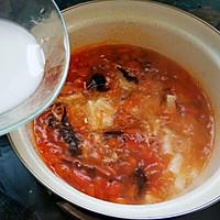 懒人开胃酸辣汤,西红柿的另类打开方式的做法图解11
