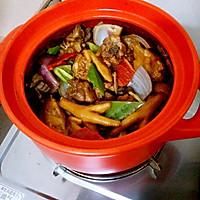野味砂煲鸡煲的做法图解6