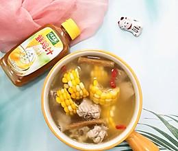 #太太乐鲜鸡汁玩转健康快手菜#排骨玉米党参汤的做法