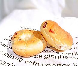 蔓越莓面包圈的做法