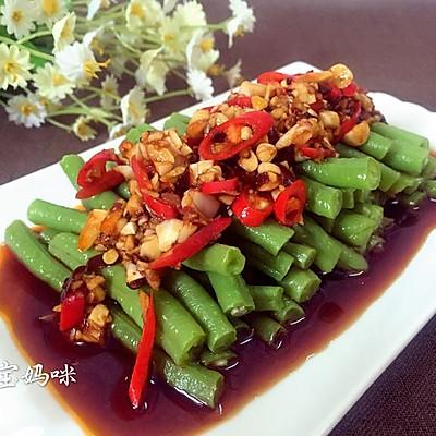 开胃菜——凉拌豇豆