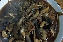 肉炒蘑菇的做法