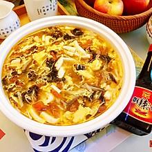 #福气年夜菜#暖心暖胃,减脂消食-家常酸辣汤