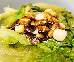 #李锦记旧庄蚝油鲜蚝鲜煮#蚝油生菜的做法