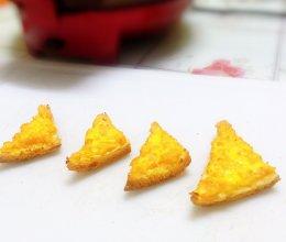 #麦子厨房#小红锅出品:宝宝早餐-蛋黄虾多士的做法