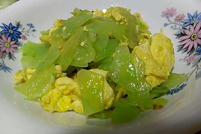 笋片炒鸡蛋
