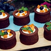 #2016松下大师赛(成都)#香草巧克力杯子蛋糕的做法图解21