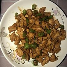 鸡胸肉炒辣椒
