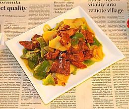 土豆片炒牛肉#中式减脂餐#的做法