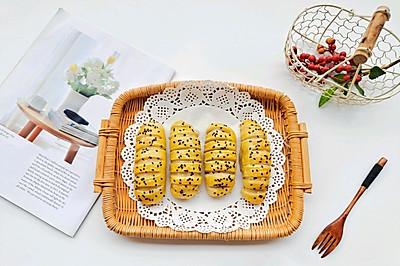 不用揉面?超超快手的手抓餅版毛毛蟲面包
