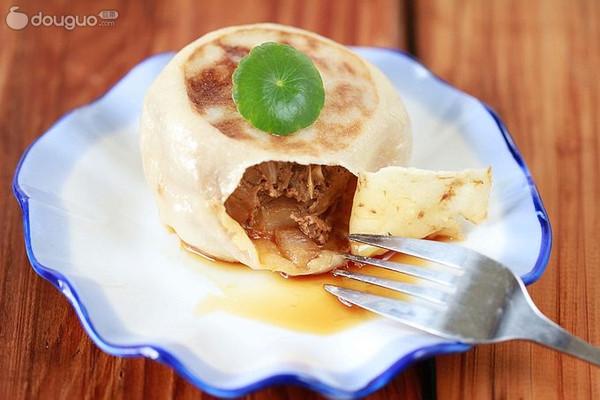 老北京名点门钉肉饼的做法