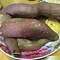 烤山芋(烤箱版)的做法图解1