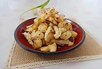 利仁电饼铛试用之椒盐花菜的做法