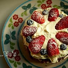 红丝绒裸蛋糕~6寸戚风蛋糕胚