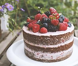 高颜值浆果莓蛋糕的做法