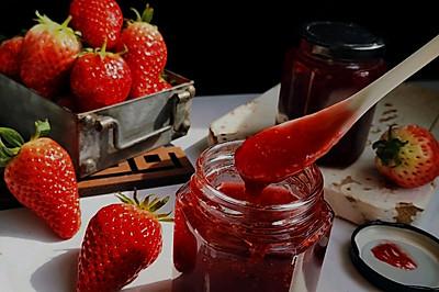 草莓果酱,留住冬天的美味