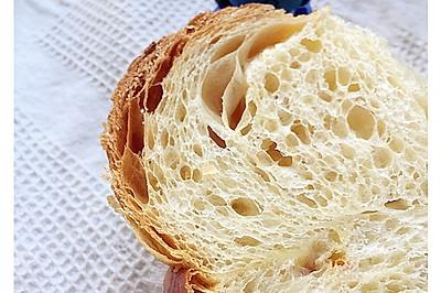 1.5次发酵--天然酵种糖渍橙皮丹麦吐司