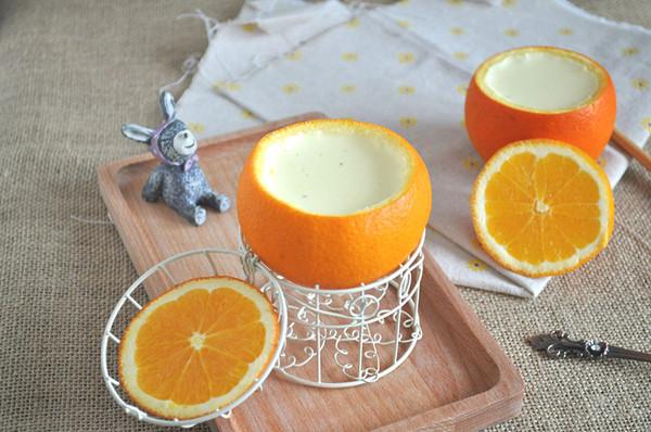 橙香奶冻的做法