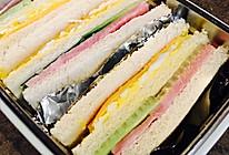 三明治便当的做法