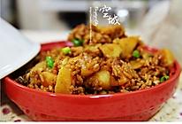 土豆焖饭(电饭锅版) 的做法