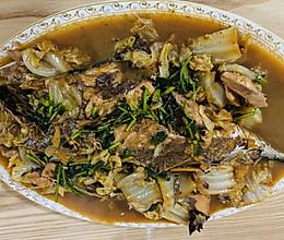 东北青鱼炖白菜的做法