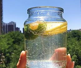 #爱乐甜夏日轻脂甜蜜#简单四步做出好喝的冰爽柠檬苏打水的做法