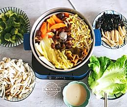#秋天怎么吃#吃撑也不胖,素火锅(附素高汤锅底)的做法