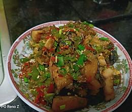 青红椒炒腊鱼