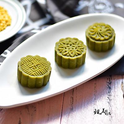 抹茶绿豆糕