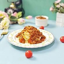 #肉食者联盟#意大利番茄肉酱面