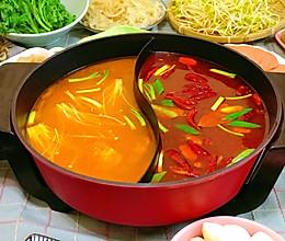 清红火锅汤底-宅家和火锅更配的做法