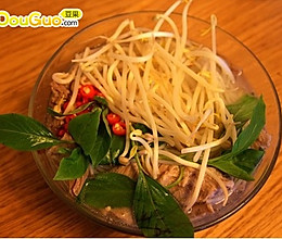 越南牛肉米粉的做法