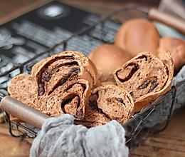 蔓越莓巧克力面包的做法