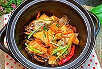 砂锅焗石斑鱼的做法
