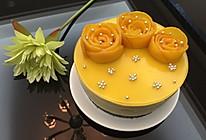 芒果慕斯蛋糕(附芒果花做法)的做法