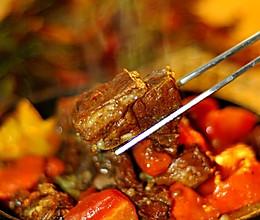 胡萝卜焖羊肉的做法
