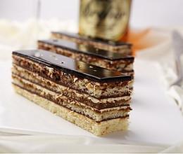 欧培拉蛋糕的做法