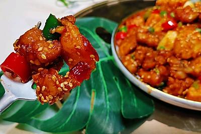 左宗棠鸡菇鸡菇外国人认为的中国美食❤️蜜桃爱营养师私厨