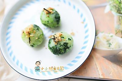 肉松夹心蔬菜丸子