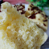 烫面玉米发糕的做法图解12