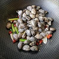 辣炒花蛤的做法图解6