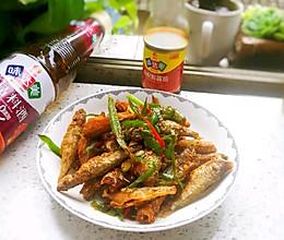 #中秋宴,名厨味#青椒小河鱼的做法