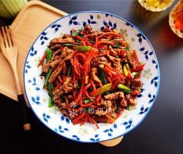 胡萝卜炒牛肉丝的做法