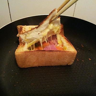 早餐之面包披萨