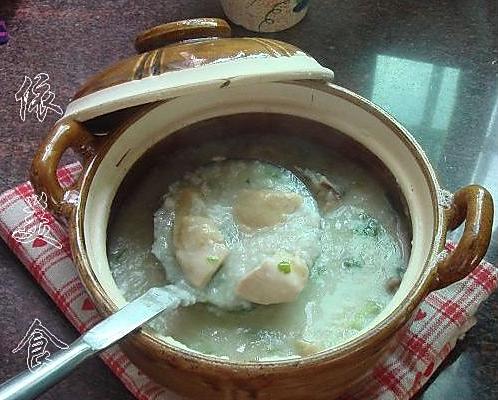 砂锅鸡粥的做法