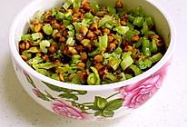 无油芹菜黄豆的做法